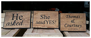 Engagment Signs